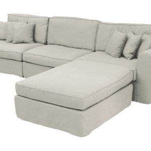 """Πολυμορφικός καναπές  5 θέσεων """"COMO"""" γκρι"""