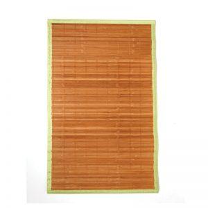 Χαλάκι μπάνιου bamboo λαχανί