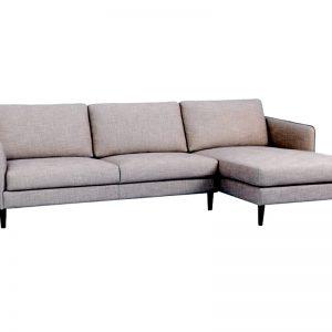 Καναπές αριστερή γωνία μπεζ