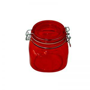 Δοχείο με κλείστρο 540 ml κόκκινο