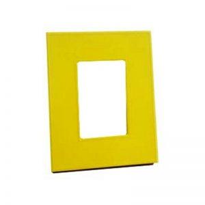 Φωτογραφοθήκη PU κίτρινη