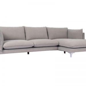 Καναπές αριστερή γωνία γκρι