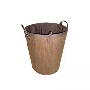 Καλάθι απλύτων πτυσσόμενο bamboo