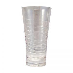 Ποτήρι σωλήνας ακρυλικό, διάφανο