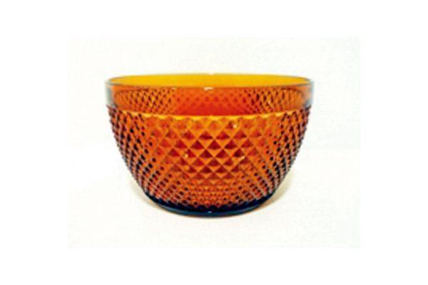 Μπωλ ακρυλικό ανάγλυφο πορτοκαλί