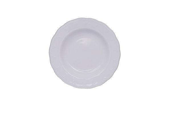 Πιάτο βαθύ  22,5cm πορσελάνη